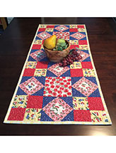 Dancing Diamonds Table Runner