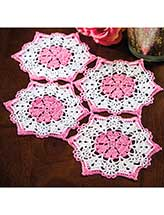 Hearts All Around Doily