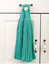 Mock-Cable Rib Dish Towel