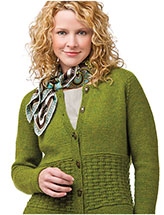 Basket Weave Basic Sweater