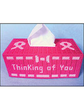 Thinking of You Tissue Box Cover