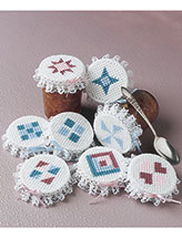 Quilt Jar Covers