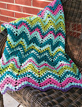 Temperature Chevron Blanket