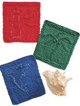 Seaside Dishcloth Set