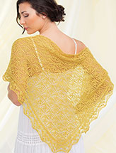 Golden Shores Shawl