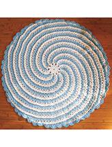 Spiral Baby Blanket