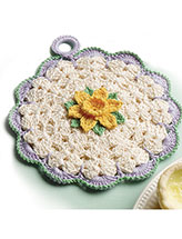 Daffodil Pot Holder