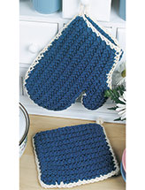 Thick Oven Mitt & Pot Holder