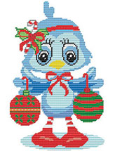 Christmas Chick Wall Decor