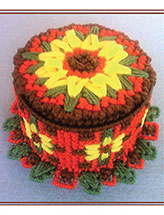 Laced With Love Petite Sunflower Cake