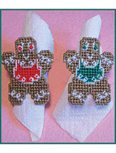 Gingerbread Cookie Napkin Rings