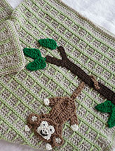 Swinging Monkey Blanket