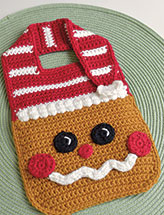 Gingerbread Baby Bib