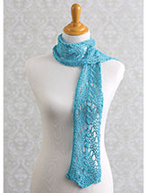Horseshoe Lace Scarf