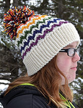 Chevron Illusion Hat