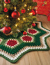 Granny Ripple Tree Skirt