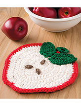 Apple Slice Pot Holder