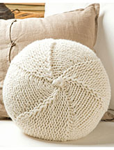 Om Ah Hum Pillow Knit Pattern