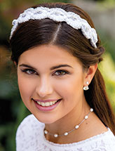 Silver Sparkle Headband Crochet Pattern