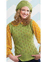 Evergreen Dream Hat & Sweater Set
