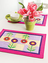Swing Into Spring Place Mats
