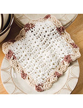 Shell Columns Dishcloth