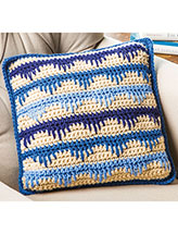 Spiked Stripes Pillow