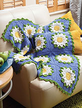 Water Lily Throw