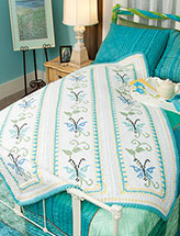 Spring Butterfly Afghan