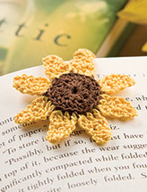 Magnetic Sunflower Bookmark