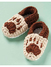 Bear Track Slippers