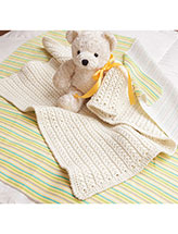 Star Stitch Preemie Blanket