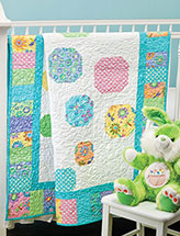 Tiny Bubbles Baby Quilt