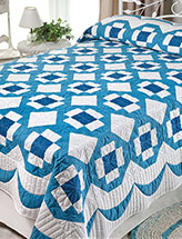 Grecian Squares & Swags Quilt
