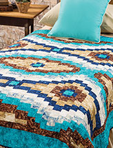 Robin's Egg Blue Bed Quilt