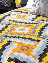 Sunspots Bed Quilt