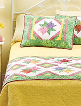 Tulip Twist Bed Runner & Shams