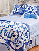 Winter Wonderland Bed Runner and Shams