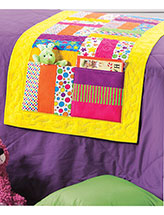 Story-Time Pockets Bed Runner Pattern