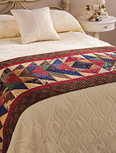 Turnabout Is Fair Play Bed Runner Pattern