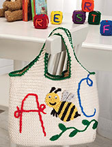 A-Bee-C Tote & Blocks