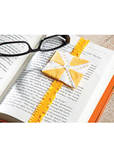 Mini Quilt Bookmark
