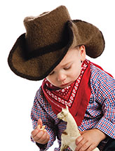 Howdy, Pardner Cowboy Hat Pattern