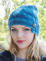 Annie's Signature Designs: Arctic Swirl Hat Knit Pattern