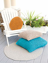 Annies Signature Designs: Cushioned Delight Knit Pattern