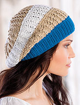 Annie's Signature Designs: Under the Boardwalk Hat Knit Pattern