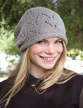 Annie's Signature Designs: Wigwam Hat Knit Pattern