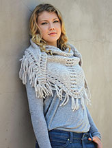 Annie's Signature Designs: Northlandia Shawl Knit Pattern