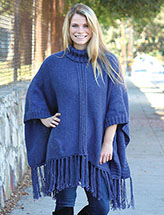 Annie's Signature Designs: Dungaree Poncho Knit Pattern