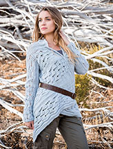 Annie's Signature Designs: Alamere Cardigan Knit Pattern